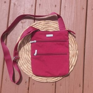 Red Baggallini Light Weight Travel Crossbody Bag
